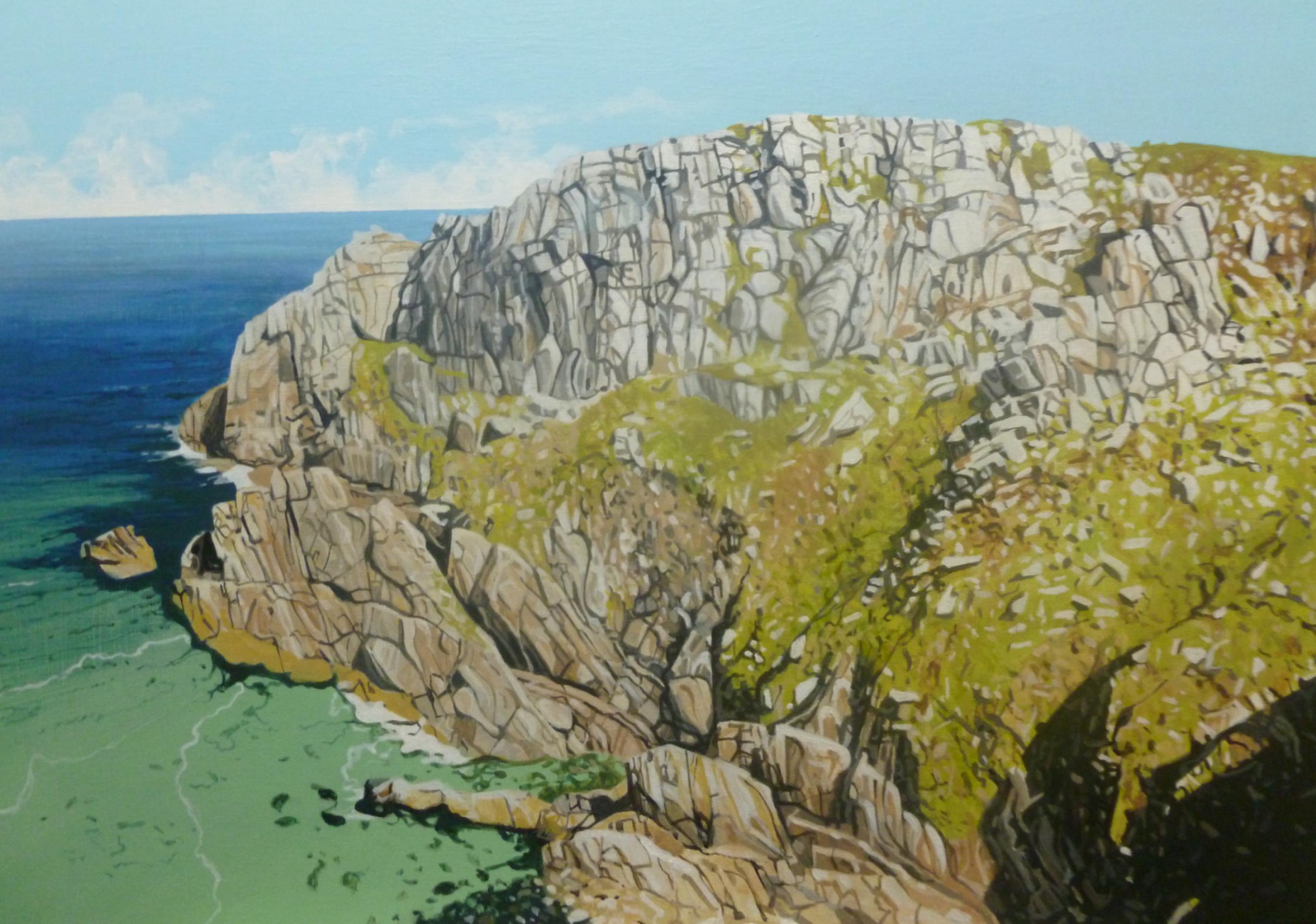 Bosigran Cliff, West Cornwall