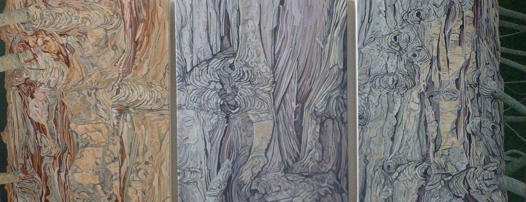 Dartington Cypress triptych 2