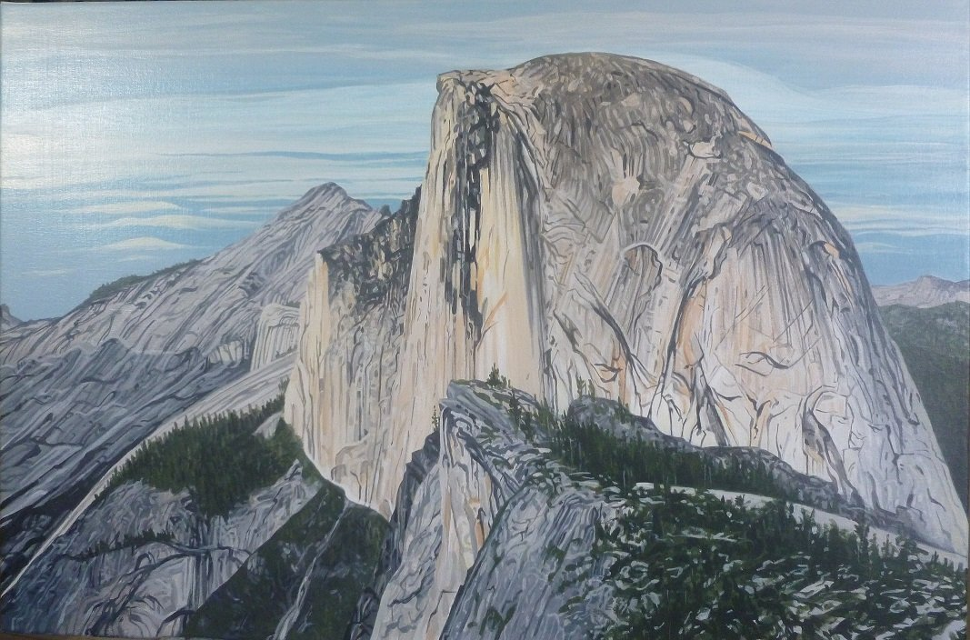 Half Dome, North West Face