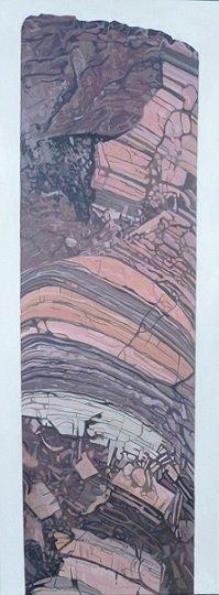 Iron ore core sample