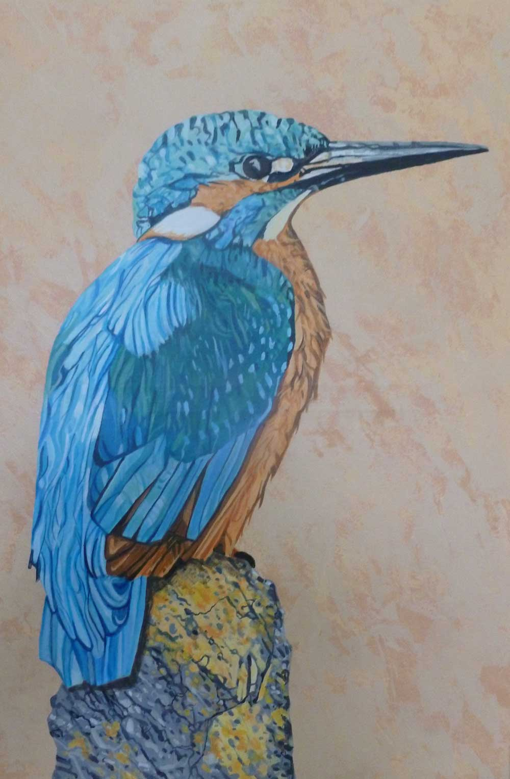 Kingfisher Perching