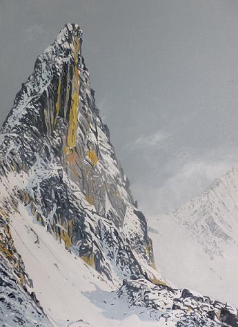 Bautaen Peak, Spitzbergen