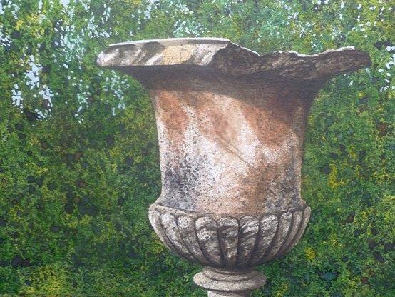 Saltram cracked urn