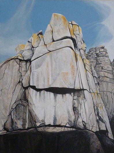 Samson Arete, Wall, Sennen Cliff