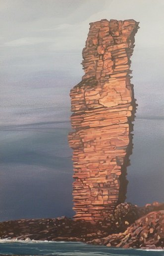 South Face of Old Man of Hoy